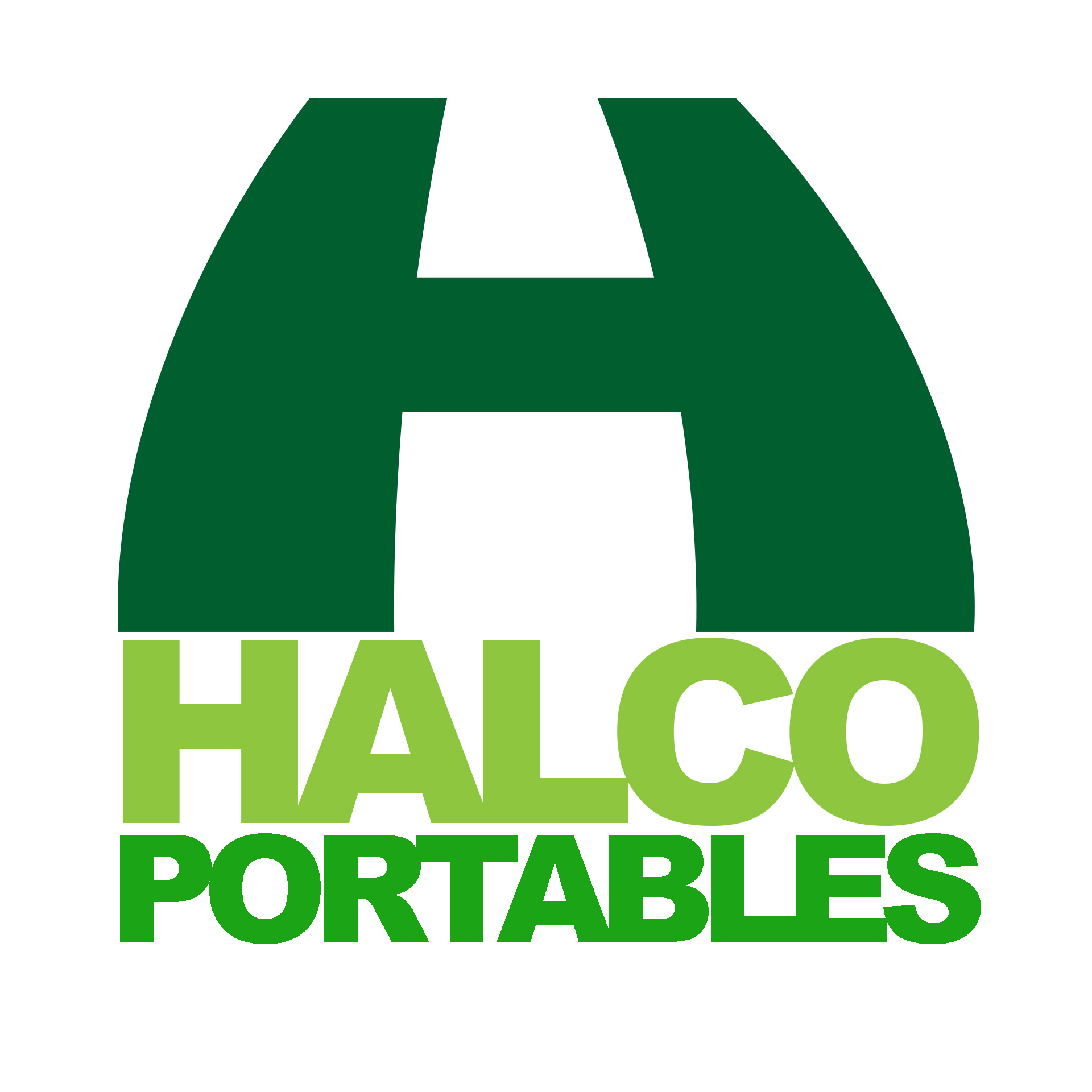 Halco Portables logo.