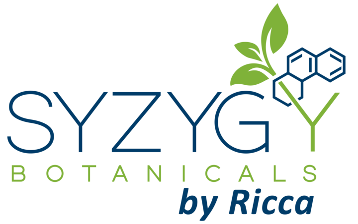 Syzygy Botanicals by Ricca logo. Click to view site.